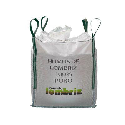Humus de lombriz en sacas - big bag